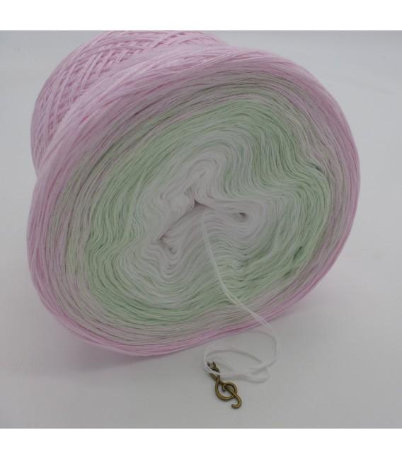 Zarte Lilienknospe - Farbverlaufsgarn 3-fädig - Bild 4