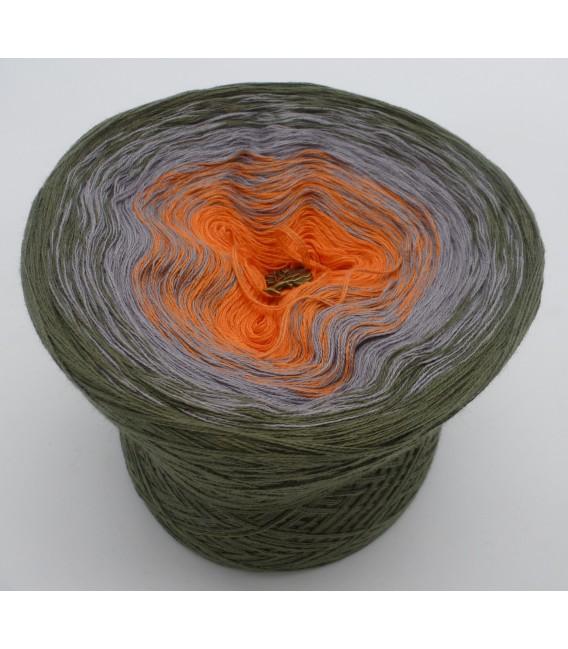 Orange Dream (Оранжевый сон) - 3 нитевидные градиента пряжи - Фото 2