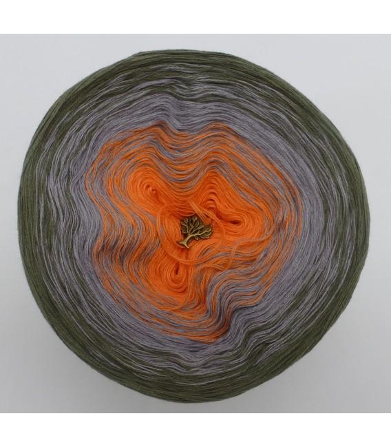 Orange Dream (Оранжевый сон) - 3 нитевидные градиента пряжи - Фото 3