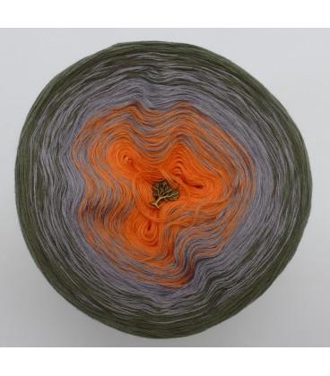 Orange Dream - 3 ply gradient yarn image 3