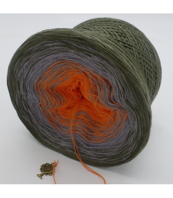 Orange Dream - 3 ply gradient yarn image 5