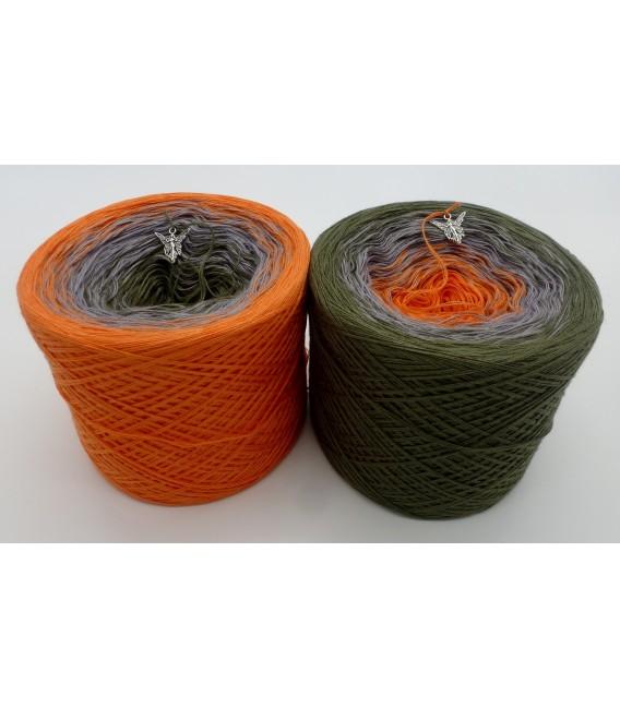 Orange Dream (Оранжевый сон) - 3 нитевидные градиента пряжи - Фото 1