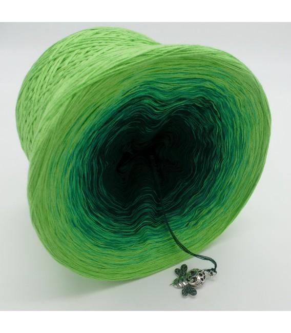 gradient yarn Frühlingsboten - Apple green outside 3
