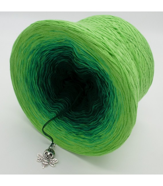 gradient yarn Frühlingsboten - Apple green outside 4