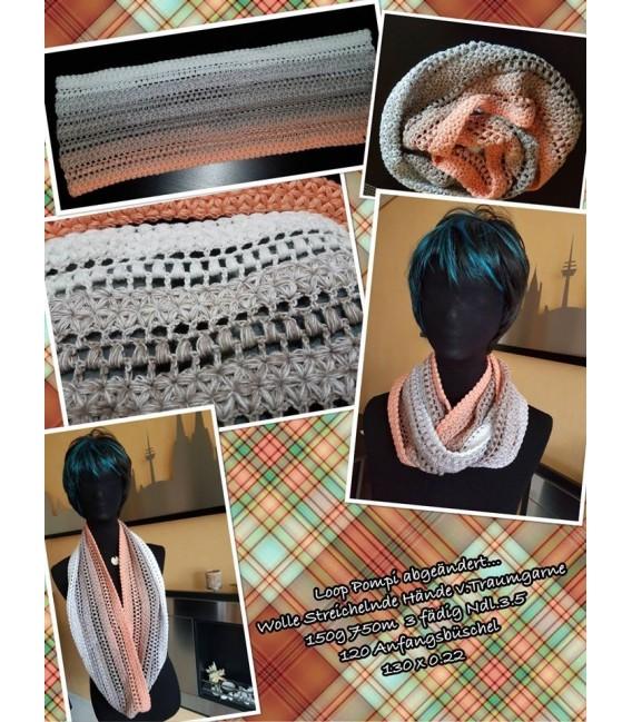 Streichelnde Hände - 3 ply gradient yarn image 10