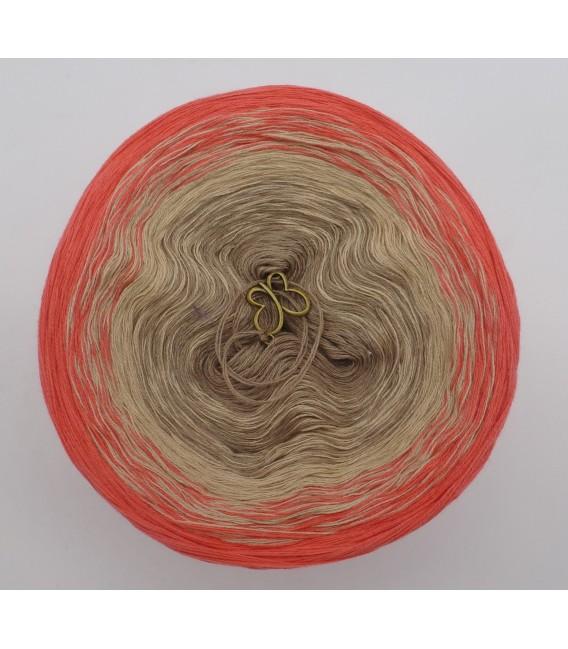 African Queen - 3 ply gradient yarn image 3