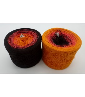 Passion - 3 ply gradient yarn