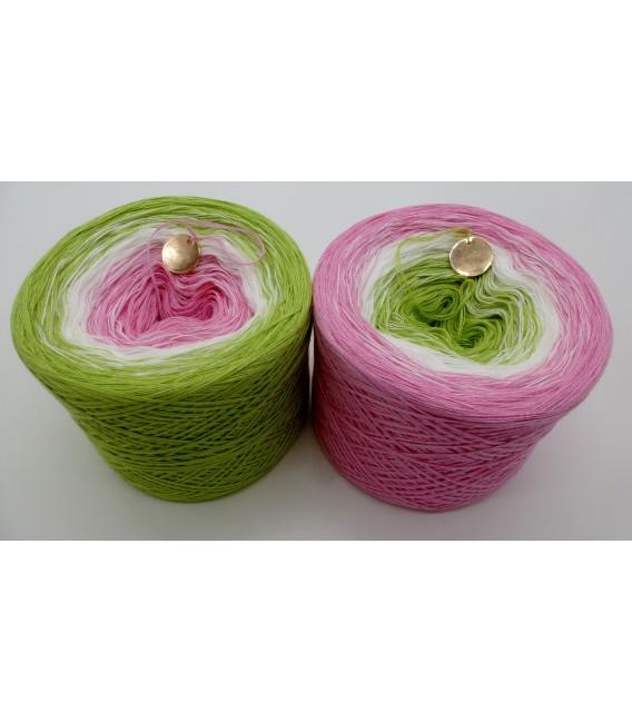 Zarte Blüten - Farbverlaufsgarn 3-fädig - Bild 1