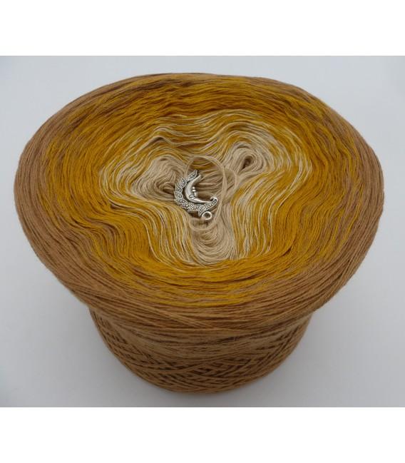Honigmond - Farbverlaufsgarn 3-fädig - Bild 2