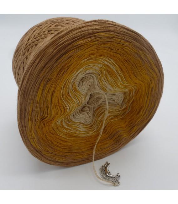 Honigmond (мед луна) - 3 нитевидные градиента пряжи - Фото 4