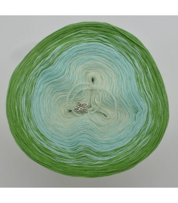 Zarte Frühlingsknospen - 3 ply gradient yarn image 3