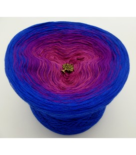 gradient yarn 3ply 1001 Nacht 3F - gentian outside