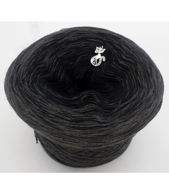 Black Beauty - 5 ply gradient yarn image 2