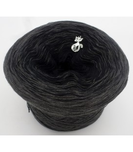 gradient yarn 5ply Black Beauty 5F - anthracite outside