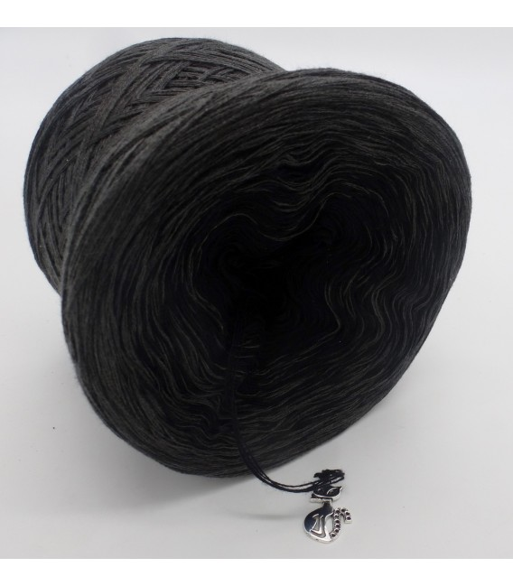 Black Beauty - 5 ply gradient yarn image 4