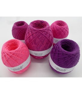 Mega package Amaryllis - 5 skeins - 600g