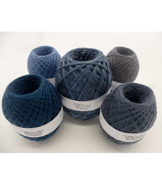 Мега пакет Волшебное Яйцо Blue Jeans (Синие джинсы) - 4 нитевидные - Фото 2