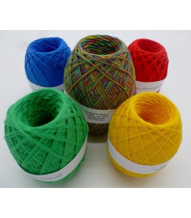 Mega package Kunterbunt - 5 skeins - 600g