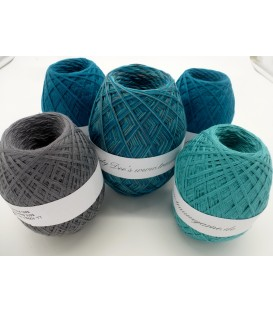 Mega package Pazifik - 5 skeins - 600g