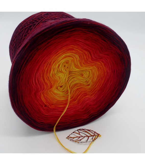 Feuervogel (Firebird) - 4 ply gradient yarn - image 4