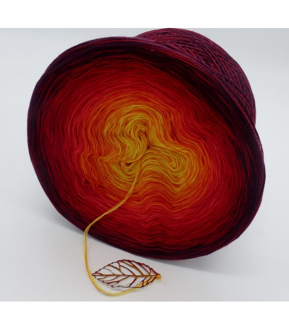 Feuervogel (Firebird) - 4 ply gradient yarn - image 5