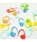 verschließbare farbige Maschenmarkierer - 20 Stück