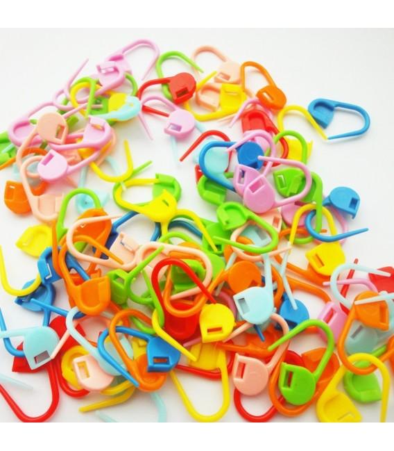 verschließbare farbige Maschenmarkierer - 100 Stück - Bild 4