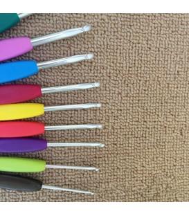 Вязания крючок набор Т алюминиевых 9 размеров