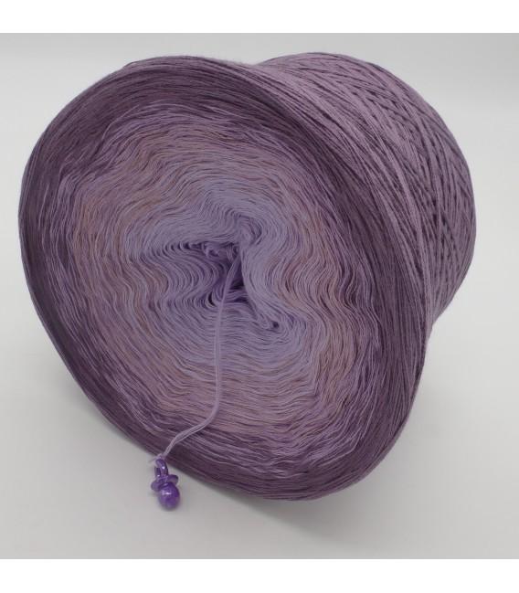 gradient yarn Magnolien - violet outside 4