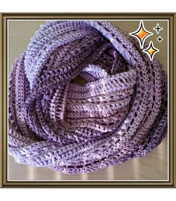 gradient yarn Magnolien - violet outside 6
