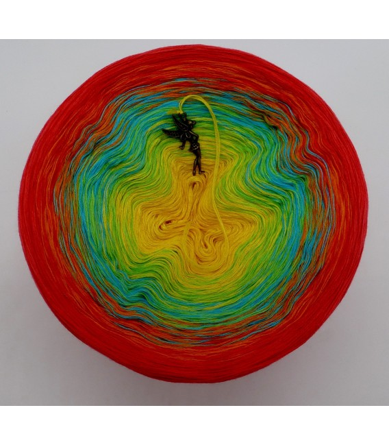 Over the Rainbow (над радугой) - 4 нитевидные градиента пряжи - Фото 3