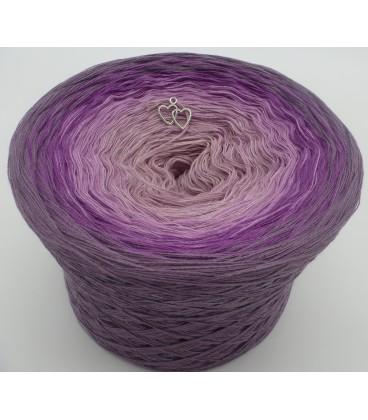 4 нитевидные градиента пряжи - Lila Wolken - лиловый снаружи