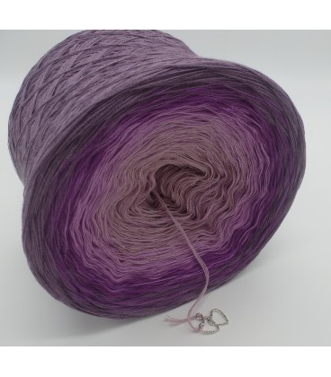 4 нитевидные градиента пряжи - Lila Wolken - лиловый снаружи 3