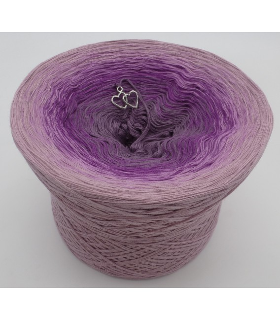 gradient yarn Lila Wolken - Lilac outside