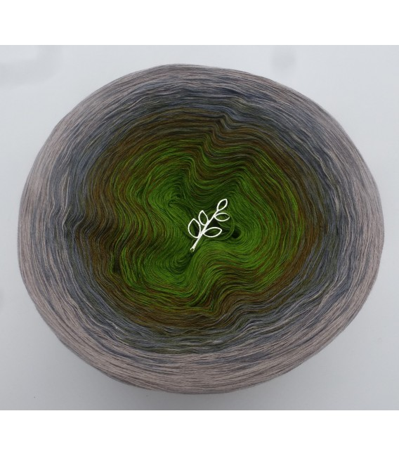 Barfuß im Moos - Farbverlaufsgarn 4-fädig - Bild 3