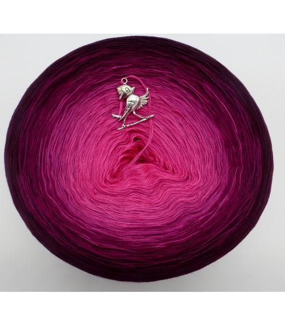 Beeren Träume - Farbverlaufsgarn 4-fädig - Bild 4