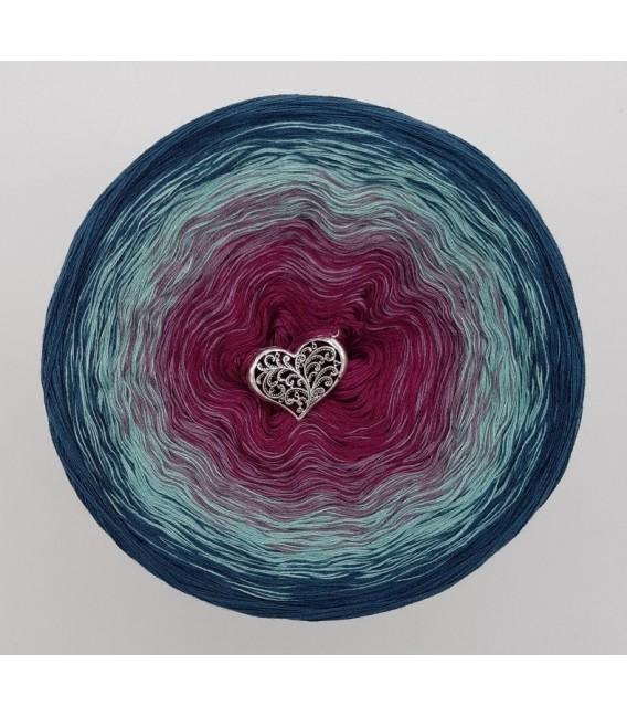 Oase der Geheimnisse (Oasis of secrets) - 4 ply gradient yarn - image 2