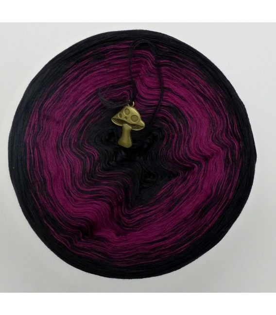 Dark Rose - 4 ply gradient yarn - image 2