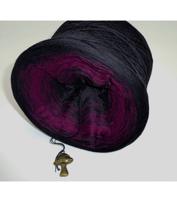 Dark Rose - 4 ply gradient yarn - image 3