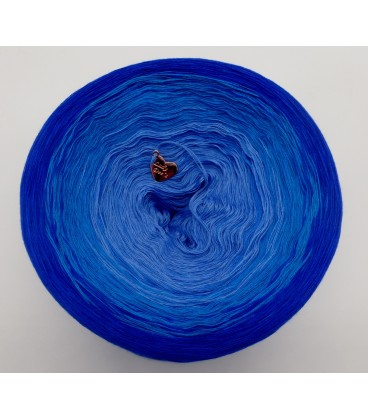 Kornblumen (васильки) - 4 нитевидные градиента пряжи - Фото 4