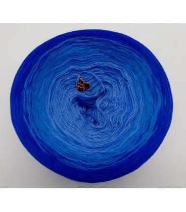 Kornblumen - Farbverlaufsgarn 4-fädig - Bild 4