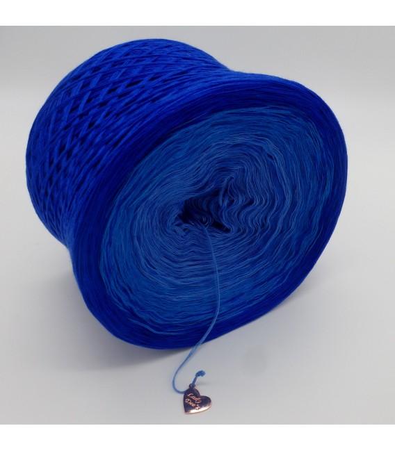 gradient yarn 4ply Kornblumen - Enzian outside 6
