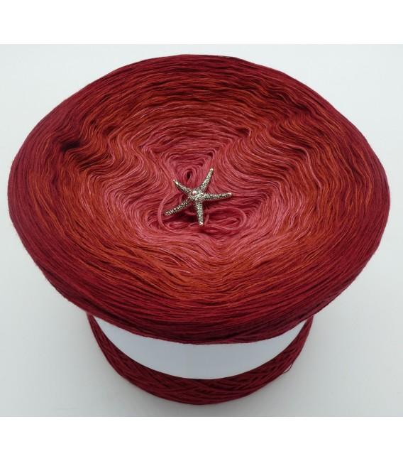 Farben der Rosen - Farbverlaufsgarn 4-fädig - Bild 2