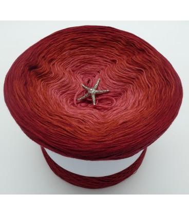Farben der Rosen (Цвета розы) - 4 нитевидные градиента пряжи - Фото 2