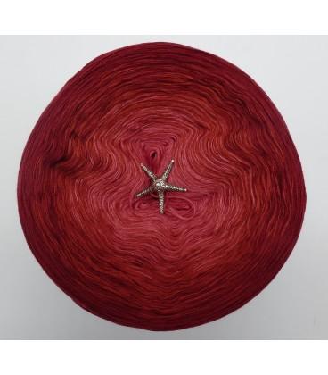 Farben der Rosen (Цвета розы) - 4 нитевидные градиента пряжи - Фото 3
