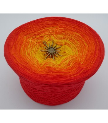 Farben des Feuers - Farbverlaufsgarn 4-fädig - Bild 2