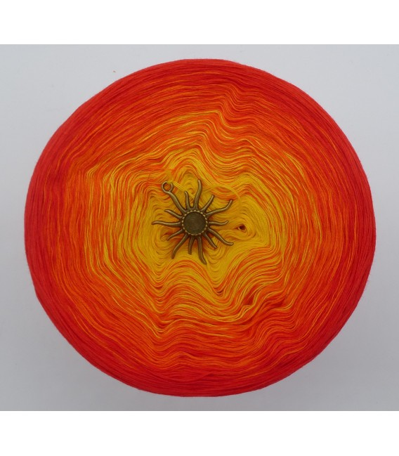 Farben des Feuers (Colors of fire) - 4 ply gradient yarn - image 3