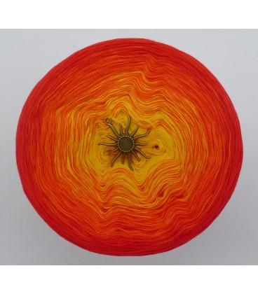 Farben des Feuers - Farbverlaufsgarn 4-fädig - Bild 3