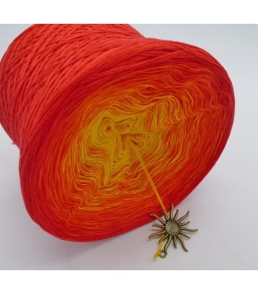 Farben des Feuers - Farbverlaufsgarn 4-fädig - Bild 5