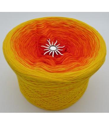 Farben des Feuers - Farbverlaufsgarn 4-fädig - Bild 6